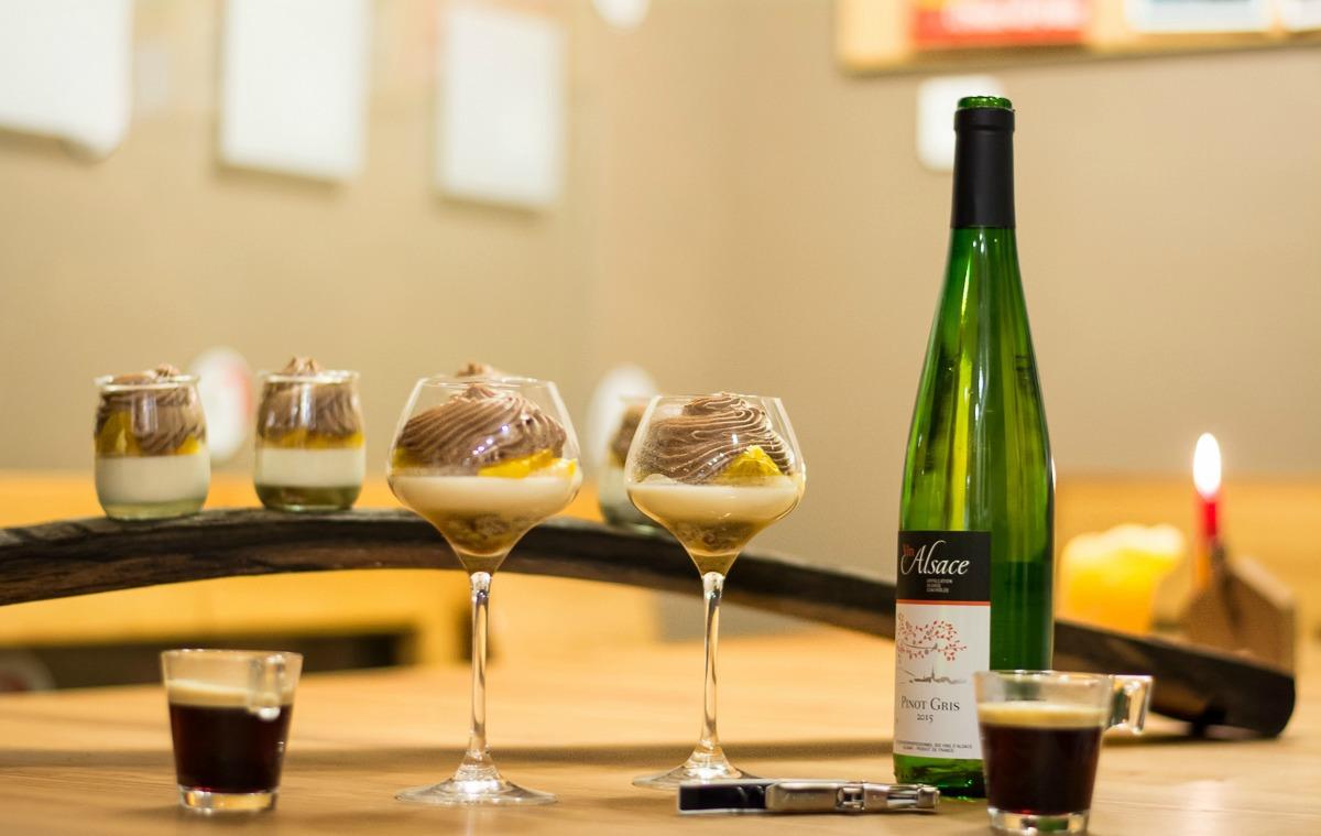 Pâtisseries aux Vins blancs d'Alsace
